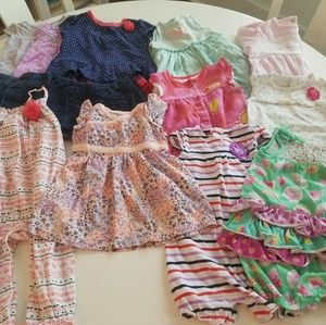 ADORABLE 9 month baby girl summer lot!